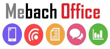 Logo de Mebach office Communication digitale et tâches administratives